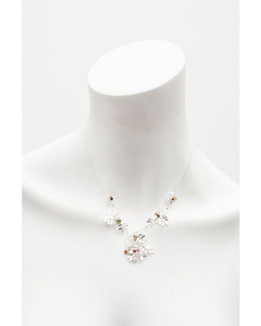 Amanda Coleman - Metallic Large Bird Necklace - Lyst