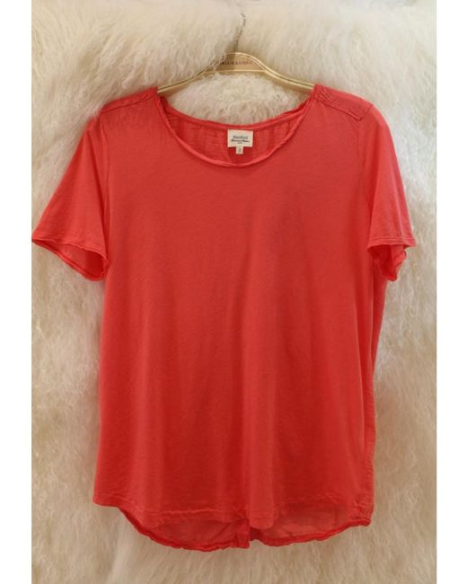 Hartford - Orange Terell T Shirt In Camelia - Lyst