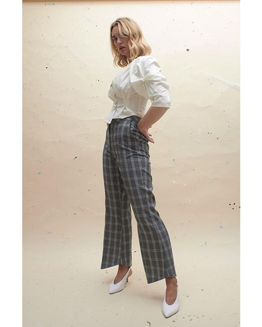 House Of Sunny - Multicolor Slim Tailored Trousers - Lyst