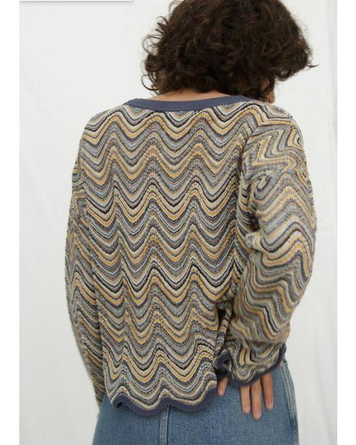 MiH Jeans - Multicolor Arlo Sweater In Multi - Lyst