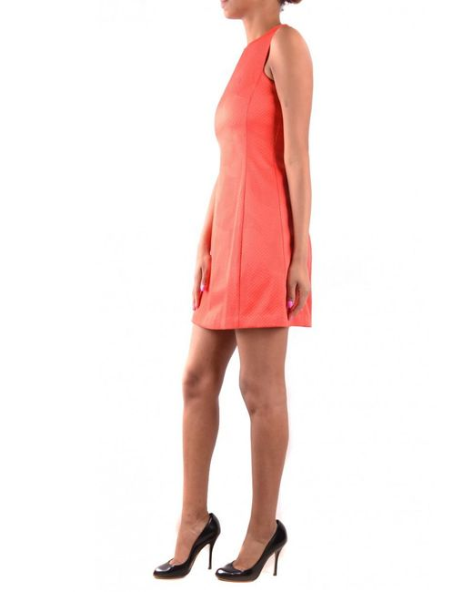 Armani Jeans Orange Dress