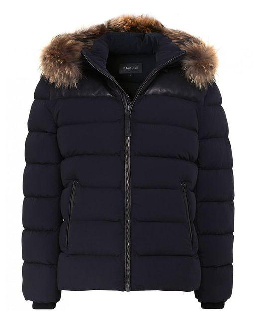 Mackage - Black Ronin Bomber Jacket for Men - Lyst