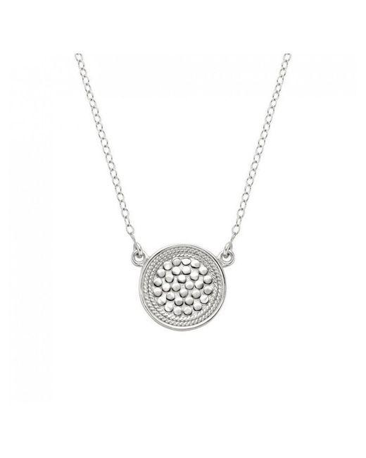 Anna Beck - Metallic Reversible Disc Necklace - Lyst