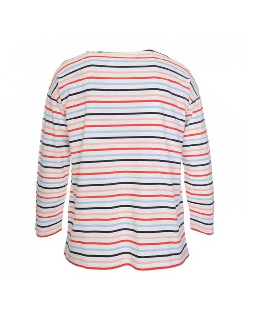 Chinti & Parker - Multicolor 3/4 Sleeve Heart Pocket T-shirt - Lyst