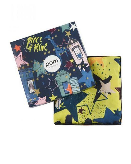 POM Amsterdam - Multicolor Stars Silk Scarf - Lyst