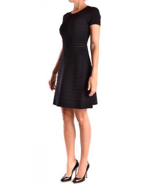 MICHAEL Michael Kors - Black Dress - Lyst