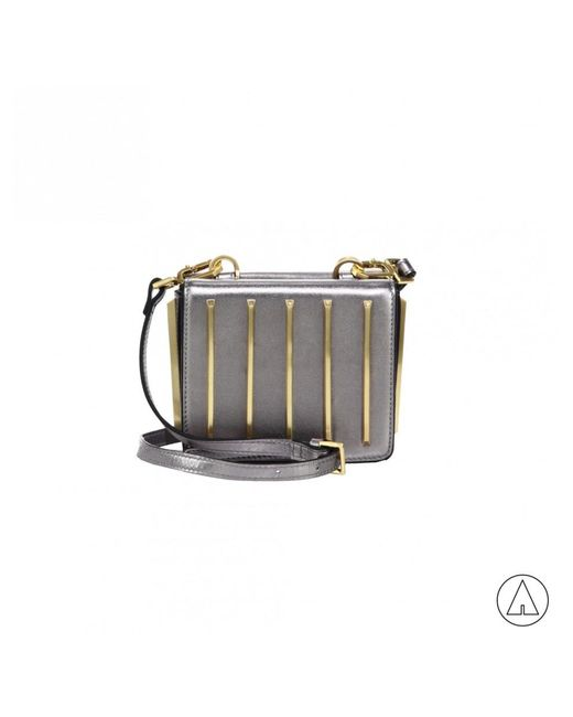 Kendall + Kylie - Gray Kendall+kylie Baxter Mini Crossbody In Silver - Lyst