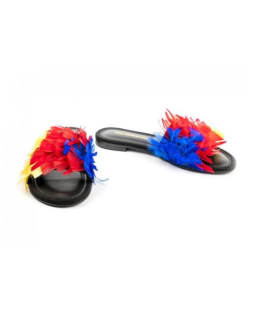 Avec Moderation - Multicolor Bora Bora Ara Macao Feathers - Lyst