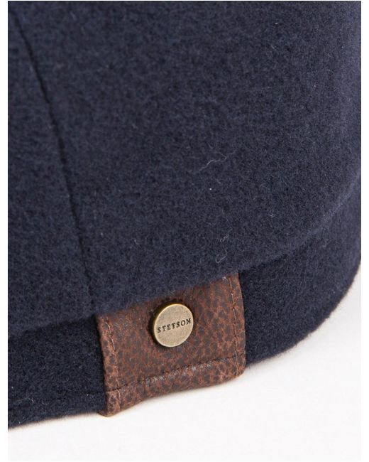 1b2e7a65d4 Stetson Hatteras Newsboy Cap (wool/cashmere) in Blue for Men - Lyst