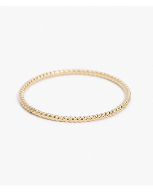 Catbird | Metallic Twisted 14-karat Gold Ring | Lyst
