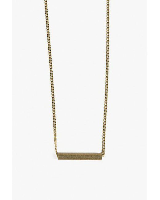 Ak Studio - Metallic Balance Necklace - Lyst