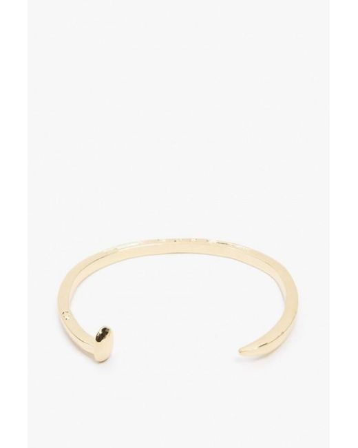 Giles & Brother | Metallic Skinny Railroad Spike Cuff | Lyst