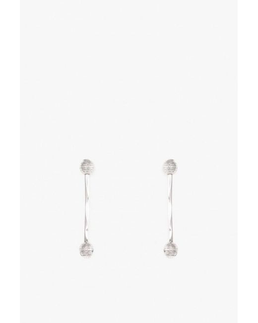 Nicole Romano | Metallic Ball & Rod Crystal Earring P | Lyst