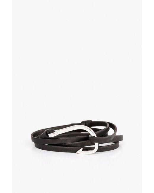 Miansai   Multicolor Hook On Leather Bracelet   Lyst