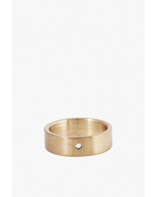 Marmol Radziner - Metallic Lighweight Solid Standard Ring - Lyst