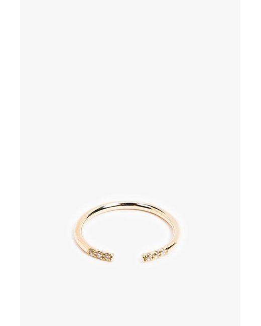 Jennie Kwon   Pink White Equilibrium Cuff Ring   Lyst