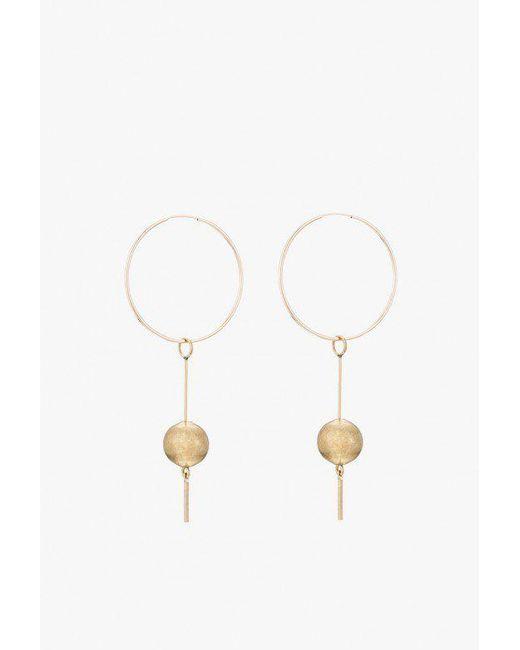 Ak Studio - Metallic Super Symmetry Earrings - Lyst