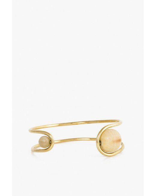 Soko - Metallic Sawa Channel Cuff - Lyst