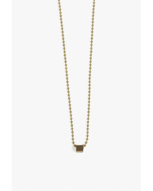 Ak Studio | Metallic Natural Order Necklace | Lyst