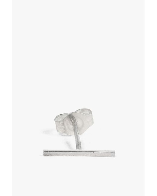 Kathleen Whitaker | Metallic Long Staple Stud - Single | Lyst