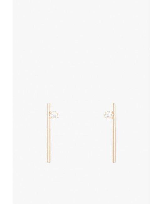 Still House | Metallic Livi Medium Earrings | Lyst