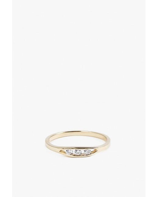 Jennie Kwon | Metallic Flat Diamond Ring | Lyst
