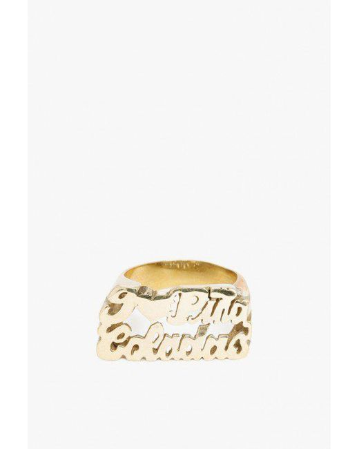 Snash Jewelry - Multicolor I Love Pina Coladas Ring - Lyst