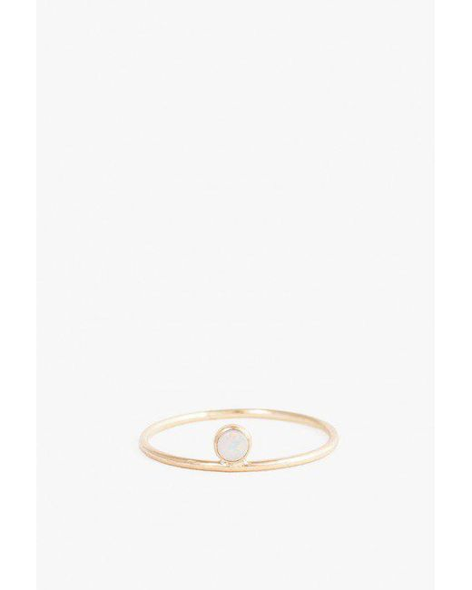 Minoux | Multicolor Opal Dot Ring | Lyst