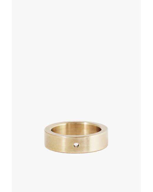 Marmol Radziner - Metallic Lightweight Solid Thin Ring - Size 6.5 - Lyst