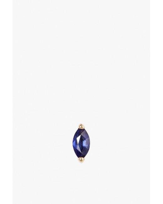 Selin Kent - Blue Defne Stud Single Earring - Lyst