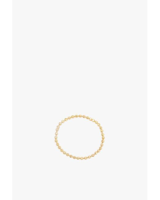 Gabriela Artigas - Metallic Soft Ball Chain Ring - Lyst