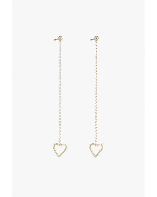 Ariel Gordon - Multicolor Heart String Earrings - Lyst