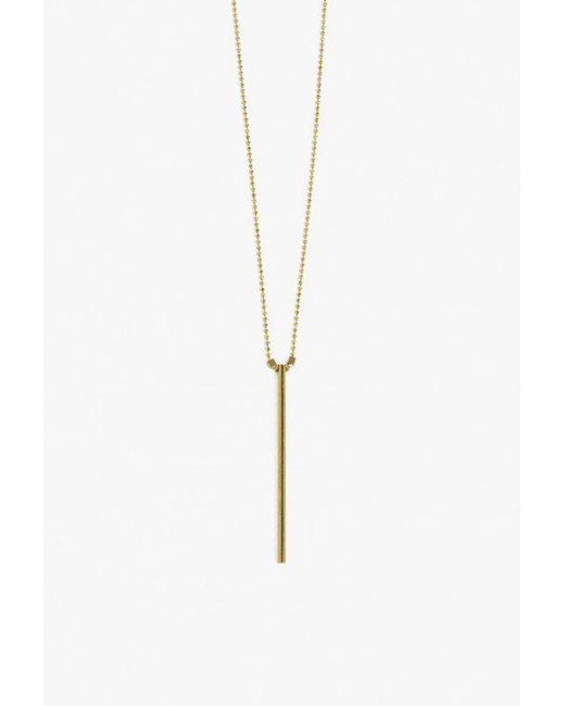 Ak Studio   Metallic Flash Necklace   Lyst
