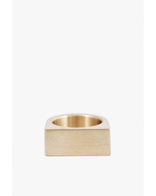 Marmol Radziner | Multicolor Short Slab Ring | Lyst
