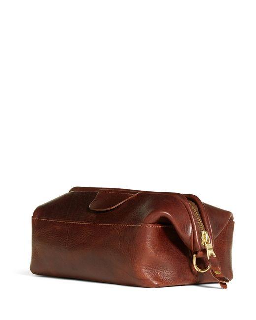 Brooks Brothers | Brown J.w. Hulme Travel Kit for Men | Lyst