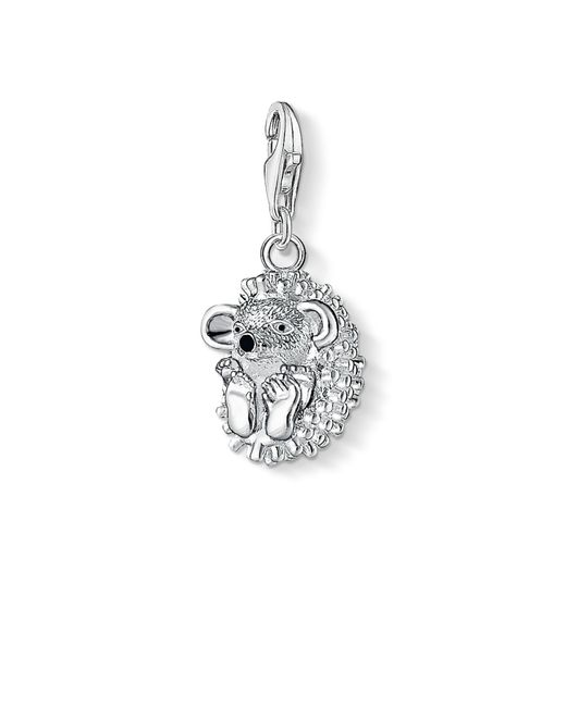 Thomas Sabo | Metallic Charm Club Hedgehog Pendant | Lyst