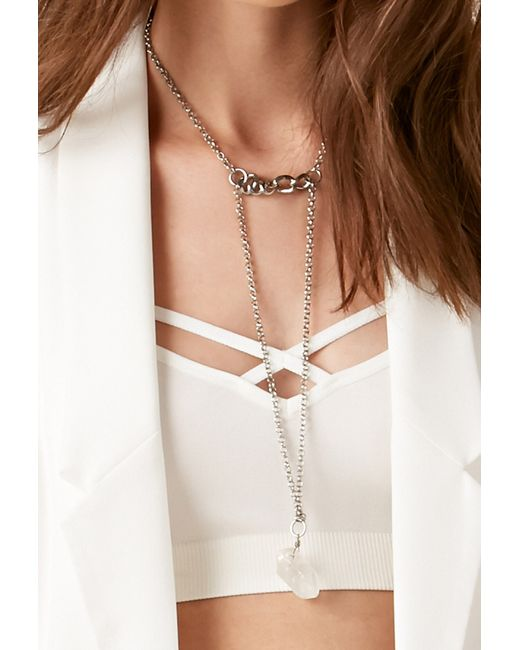 Forever 21 | Metallic Haati Chai Sefi Necklace | Lyst