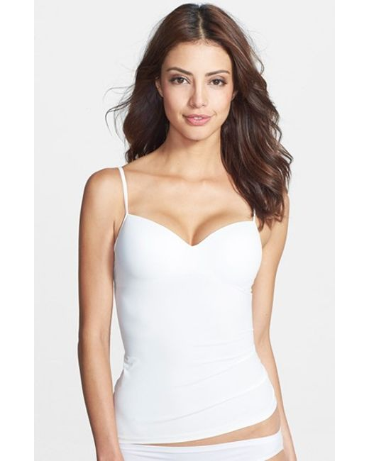 Shop HANRO ELINA LACE-TRIM CAMISOLE, OFF WHITE, starting at $ Similar ones also available. On SALE now!