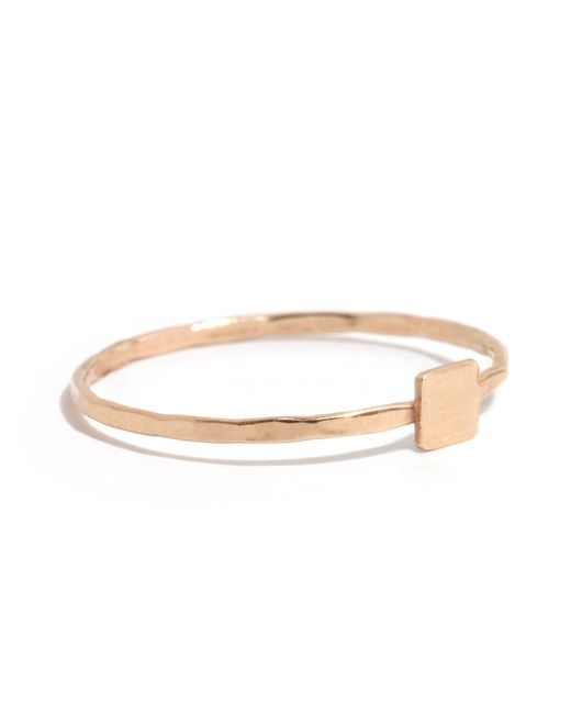 Melissa Joy Manning | Pink Solid Square Ring | Lyst