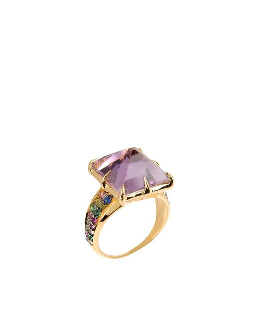 Katie Rowland | Metallic Ring | Lyst
