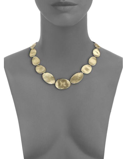 Marco Bicego   Metallic Lunaria 18k Yellow Gold Necklace   Lyst