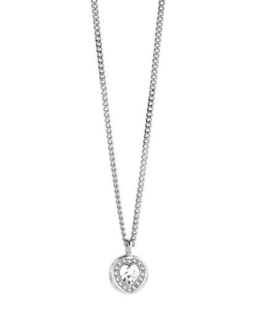 Guess | Metallic Coins Of Love Necklace | Lyst