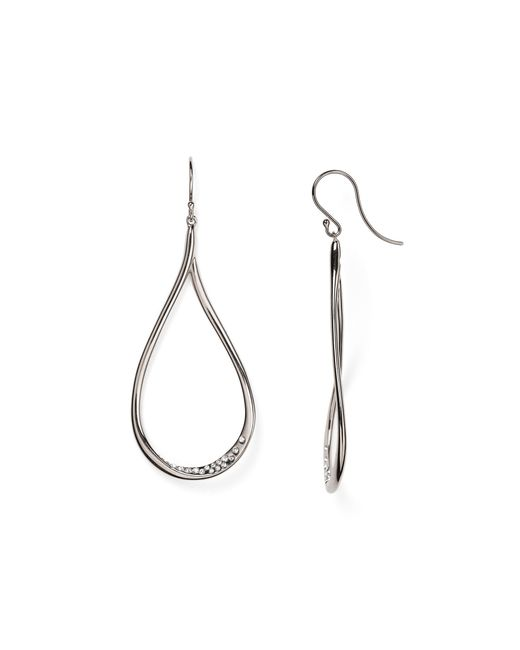 Nadri | Metallic Crystal-studded Drop Earrings | Lyst
