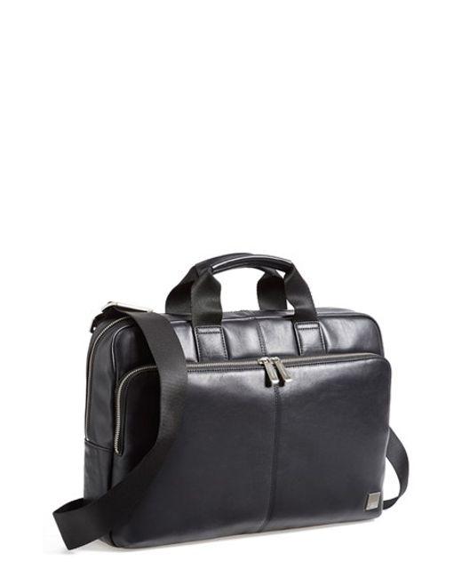 Knomo   Black Newbury Briefcase for Men   Lyst