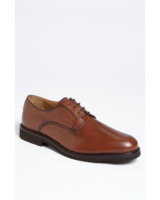 Florsheim | Brown 'gallo' Plain Toe Derby for Men | Lyst