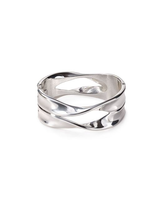 Robert Lee Morris | Metallic Flowing Hinge Bangle | Lyst