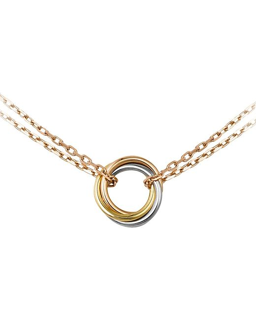 Cartier | Metallic Sweet Trinity 18ct Gold Necklace | Lyst