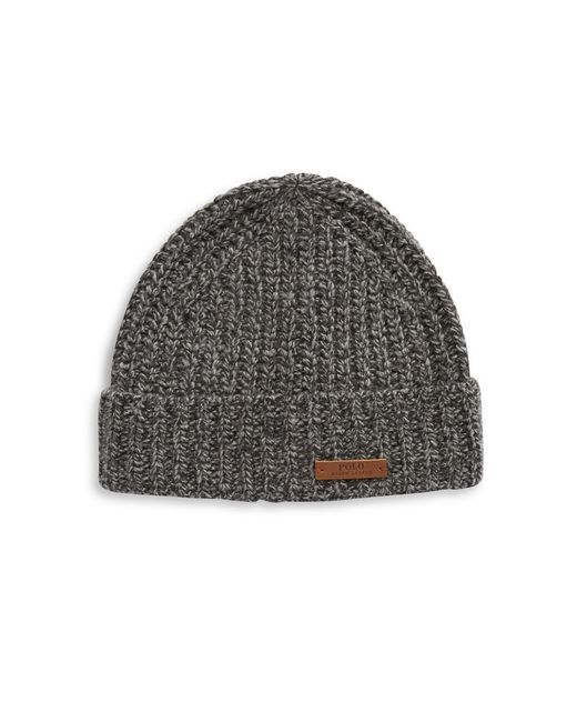 Polo Ralph Lauren | Gray Ragg Wool Cuff Cap for Men | Lyst