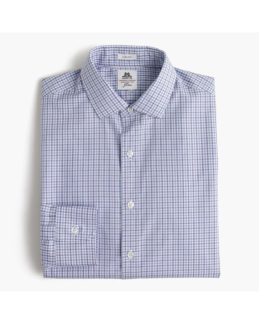 Thomas mason ludlow shirt in end on end cotton in for Thomas mason dress shirts