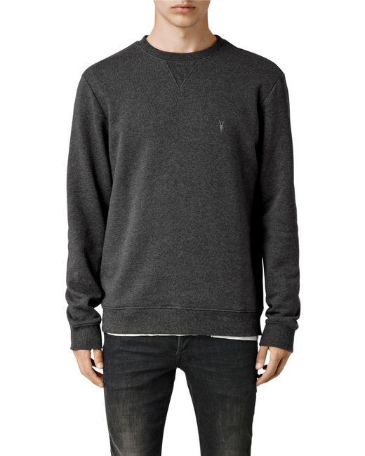 AllSaints   Gray Wilde Crew Sweatshirt for Men   Lyst